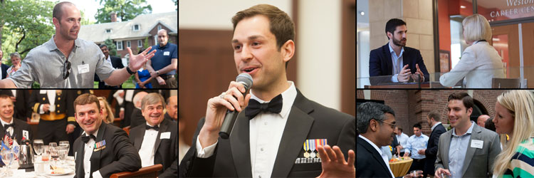 Military veterans are a vital part of the Olin Business School community.